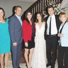 Quartermaine family wedding photo