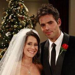 Robin weds Patrick Drake