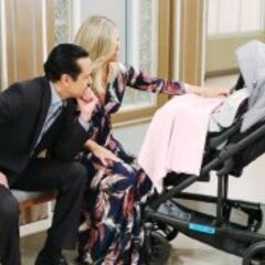 Sonny and Carly prepare to bring Donna home