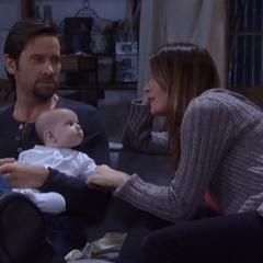 Nina and Franco name the baby Jaime