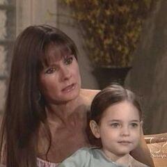Christina and her mom