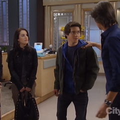 Rafe with uncle Silas, Sam and Kiki