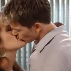 Michael and Kiki's second kiss