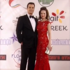 Ric and Elizabeth on the red carpet