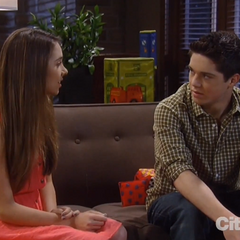 Rafe and Molly talk about prom after the hearing