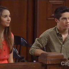 Rafe and Molly at his custody hearing