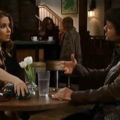 Olivia tells Dante she's pregnant