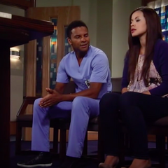 Sabrina tells Felix that she's pregnant