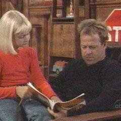 Scott reads to Serena