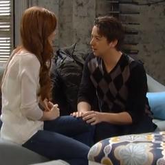 Ellie tells Spinelli about her job offer in Portland