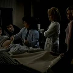 Everyone watching Cameron's ultrasound