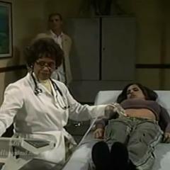 Sam during an ultrasound