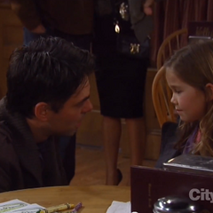 Emma reunites with her father after Sabrina finds her
