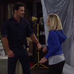 Nathan and Maxie fight about where to look for the key