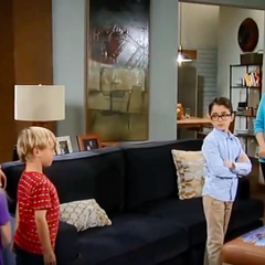 Charlotte and her family/Spencer resents Charlotte
