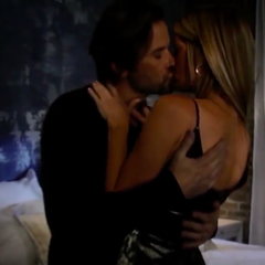 Franco and Nina make love for the first time