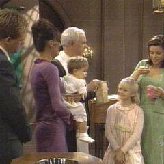 Serena at Christina's christening