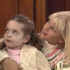 Christina with sister Serena