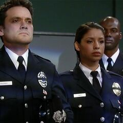Dante and Valerie in PCPD dress uniforms