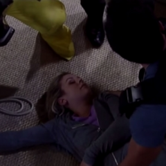 Nathan reunites with an unconscious Maxie
