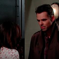 Patrick asks Sabrina if she's pregnant