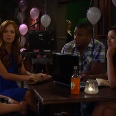 Spellie discuss Britt's mom with Felix and Sabrina