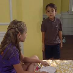 Josslyn hides Spencer in her room