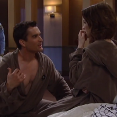 Ric tries to convince Elizabeth that he is innocent