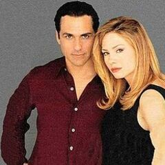 Benard and Brown as Sonny and Carly