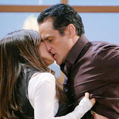 Sonny and Brenda kiss (2010)