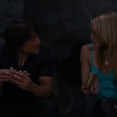 Dante and Lulu eat in a cave (2011)