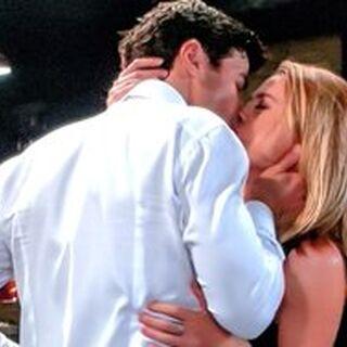 Their final kiss