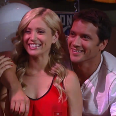 Lante happy on karaoke night (2013)