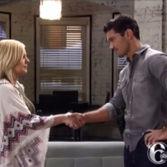 Nathan and Maxie make a deal to help him be more positive