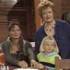 Serena, her mom and aunt Charlene