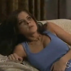 Nico throws a pregnant Sam into a chair