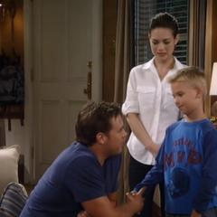 Jason, Elizabeth and their son, Jake