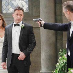 Julexis held at gunpoint at their wedding