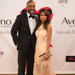Curtis and Valerie on the red carpet