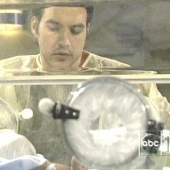 Spencer and Nikolas in the NICU