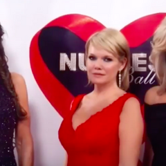 Lucy, Ava and Carly on the red carpet