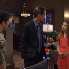 Rafe, Molly and Silas talk