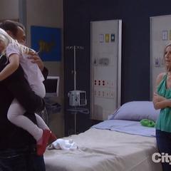 Joss reunites with her dad