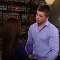 Sabrina tells Michael that she's pregnant but neglects to tell him he might not be the father