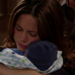 Aiden reunites with his mommy
