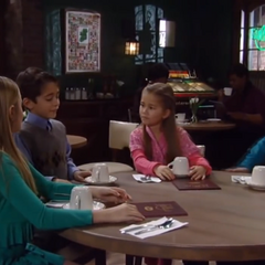 Spencer, Josslyn, Cameron and Emma