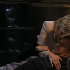 Carly saves Sonny's life
