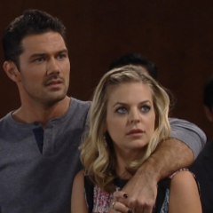 Nathan and Maxie wait to hear who the new mayor is