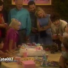 Baldwin family celebrates Christina's first birthday