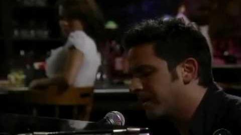 Brandon H.O.T. Barash Johnny singing at Jakes 10-09-09